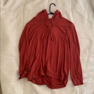 Long sleeve light sweatshirt